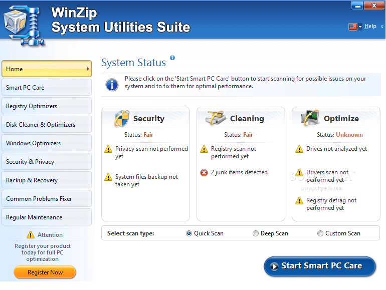 WinZip System Utilities Suite Activation Key + Patch {Tested} Free Download