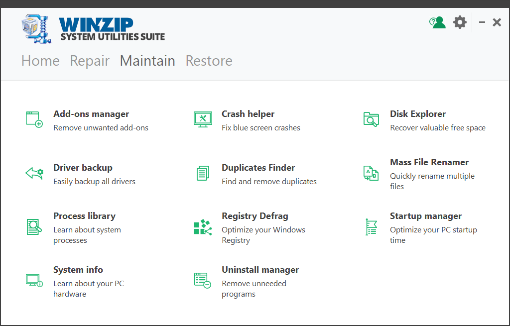WinZip System Utilities Suite Serial Key + Activator {Latest} Free Download