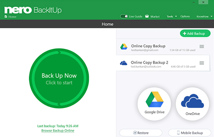 Nero BackItUp License Key + Activator {Updated} Free Download