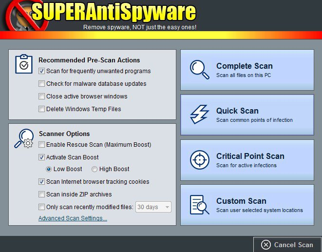 SUPERAntiSpyware Professional X Serial Key + Activator {Tested} Free Download