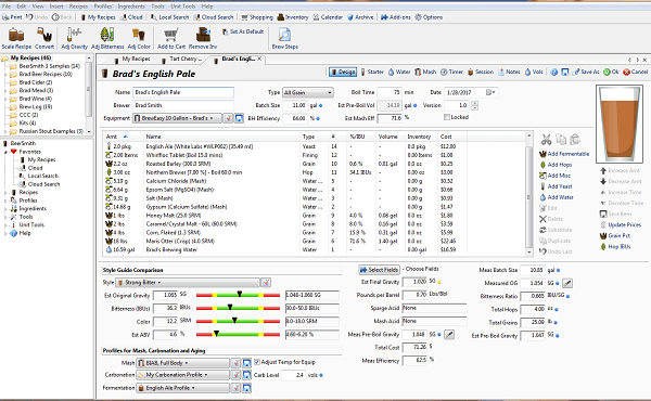 BeerSmith Patch + Keygen {Tested} Free Download
