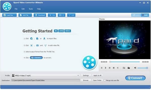 Tipard Video Converter Ultimate Patch + Keygen {Tested} Free Download