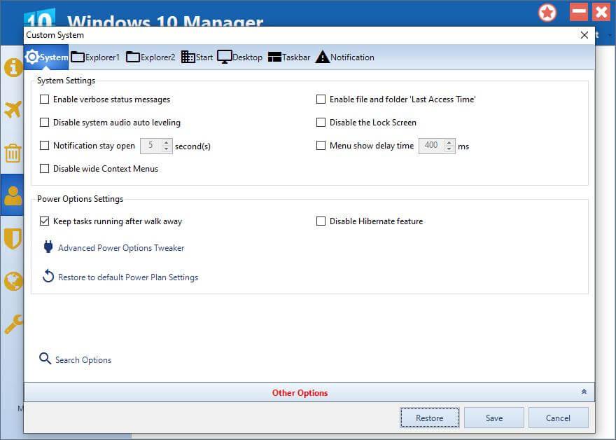 Yamicsoft Windows 10 Manager Activation Key [Latest] Free download